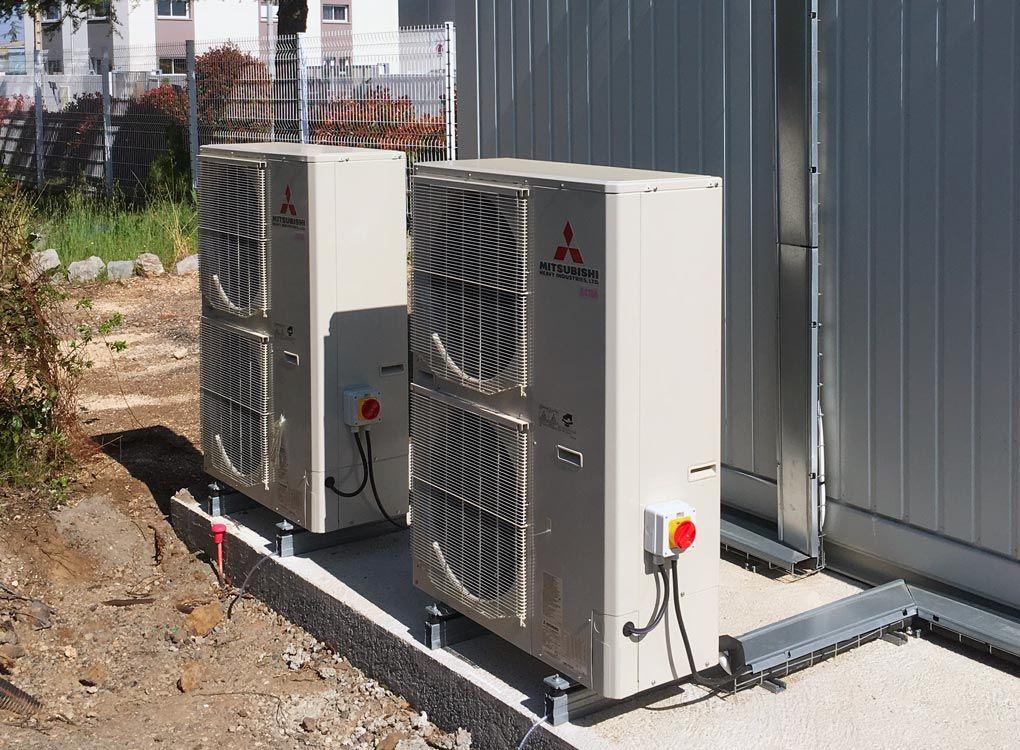 système ventilation datacenter