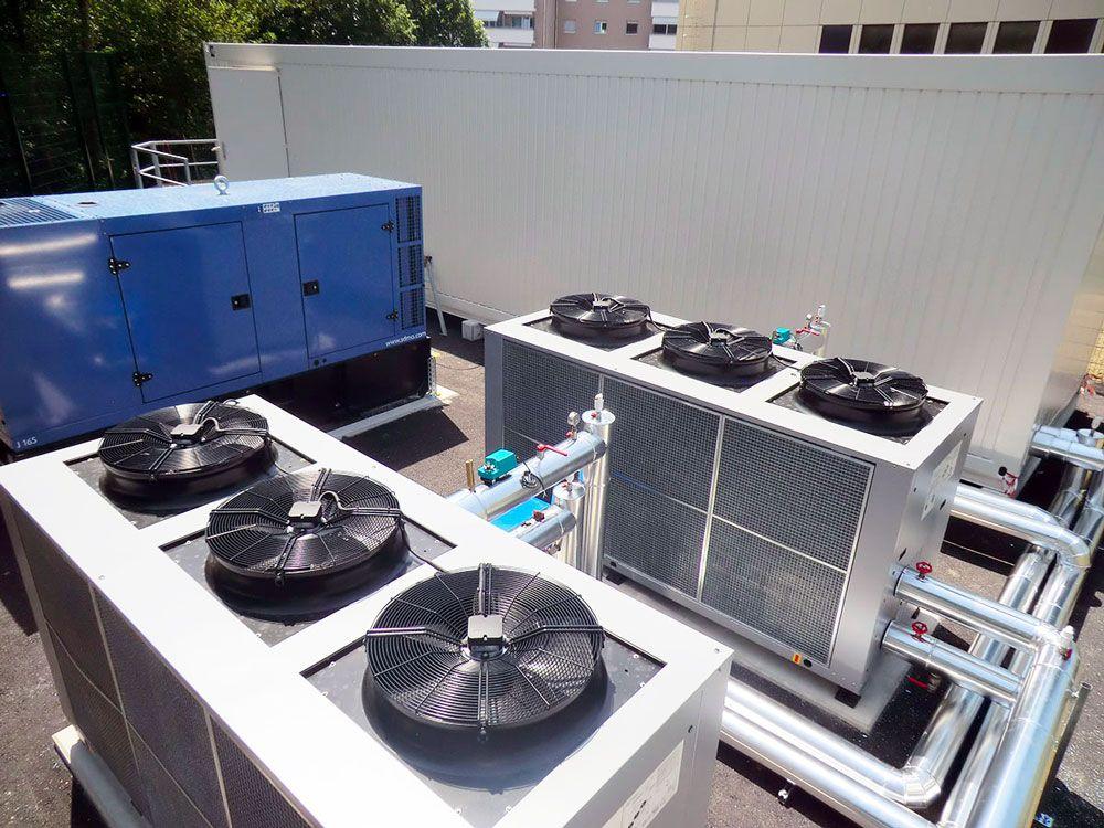 système de ventilation datacenter
